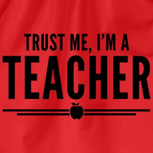 Trust Me, Teacher  Tank Tops - Turnbeutel