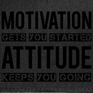 Motivation T-Shirts - Snapback Cap