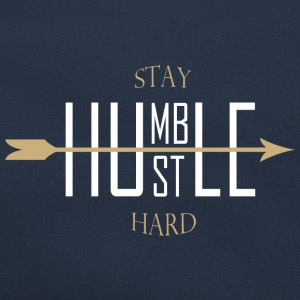 Stay humble - hustle hard Tröjor - Retroväska
