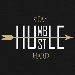 Stay humble - hustle hard Caps & Hats - Men's Premium T-Shirt