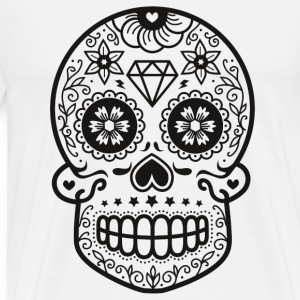 Sugarskull Hoodies & Sweatshirts - Men's Premium T-Shirt