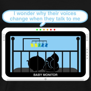 Boy baby monitor - Voice Baby Bodysuits - Men's Premium T-Shirt