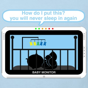 Boy baby monitor - Sleep Baby Bodysuits - Kids' Organic T-shirt