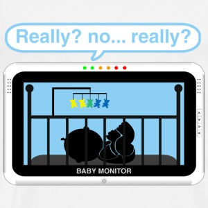 Boy baby monitor - Really Baby Bodysuits - Men's Premium T-Shirt