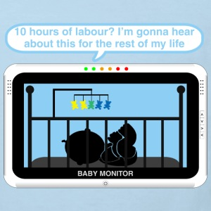 Boy baby monitor - Labour Baby Bodysuits - Kids' Organic T-shirt