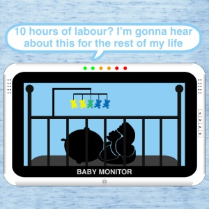 Boy baby monitor - Labour Baby Bodysuits - Women's Tank Top by Bella