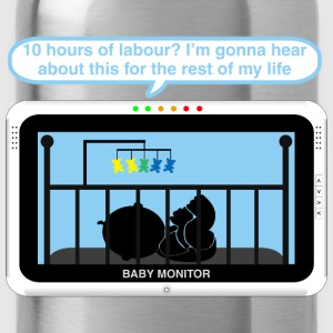 Boy baby monitor - Labour Baby Bodysuits - Water Bottle