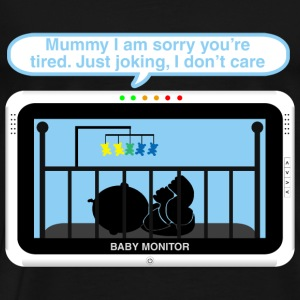 Boy baby monitor - Joking Baby Bodysuits - Men's Premium T-Shirt