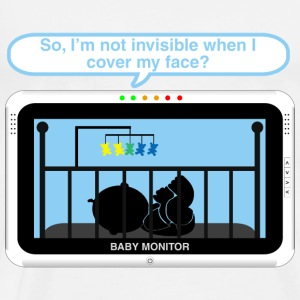 Boy baby monitor -invisible Baby Bodysuits - Men's Premium T-Shirt