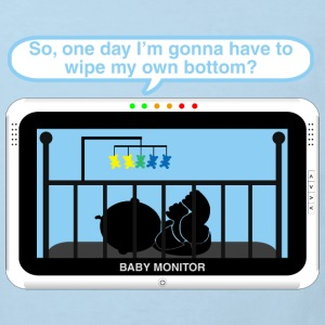Boy baby monitor - Bottom Baby Bodysuits - Kids' Organic T-shirt