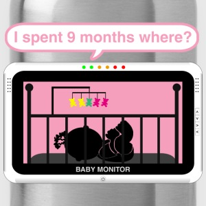 Girl baby monitor - 9 months Baby Bodysuits - Water Bottle