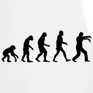 evolution zombie T-Shirts - Kochschürze