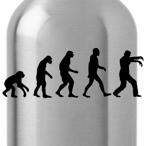 evolution zombie T-Shirts - Trinkflasche
