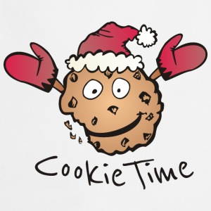 Gris chiné Noël Cookie Time Tee shirts - Tablier de cuisine