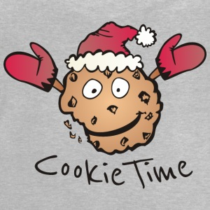 Grijs gespikkeld Kerst Cookie Time Shirts - Baby T-shirt