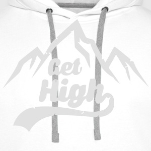 WILL HIGH! T-Shirts - Men's Premium Hoodie