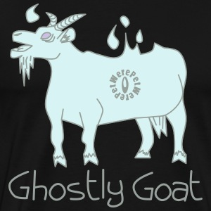 Ghostly Goat Long sleeve shirts - Men's Premium T-Shirt