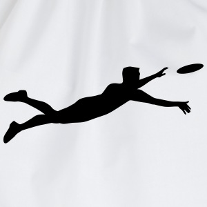 Ultimate Frisbee Player 1c T-Shirts - Turnbeutel