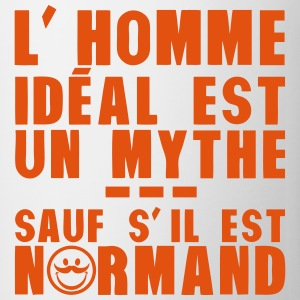 normand homme ideal mythe humour citatio Tee shirts - Tasse