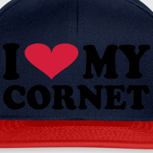 I Love My Cornet - Snapback-caps