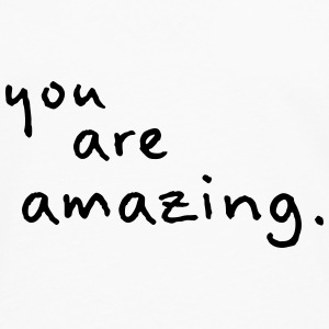 you are amazing - Maglietta Premium a manica lunga da uomo
