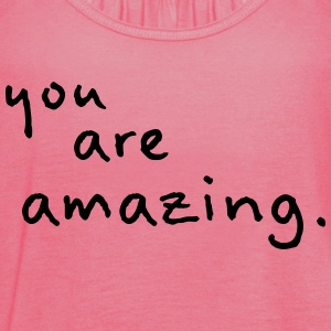 you are amazing Tee shirts - Débardeur Femme marque Bella