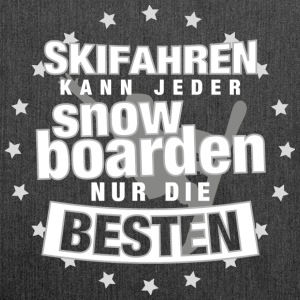 snowboarden Pullover & Hoodies - Schultertasche aus Recycling-Material