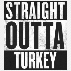 Straight outta Turkey - Baseballkappe