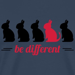 be different lapins Hare Easter bunny bunny Vêtements de sport - T-shirt Premium Homme