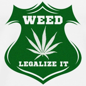 Weed - Legalize it Toppe - Herre premium T-shirt