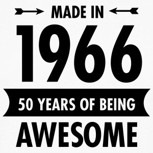 Made In 1966 . 50 Years Of Being Awesome T-Shirts - Men's Premium Longsleeve Shirt