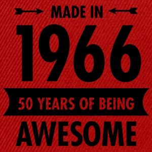 Made In 1966 . 50 Years Of Being Awesome T-shirts - Snapback cap