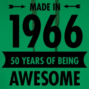 Made In 1966 . 50 Years Of Being Awesome T-shirts - Premiumluvtröja herr
