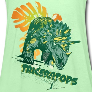 Animal Planet Teenager T-Shirt Triceratops - Frauen Tank Top von Bella