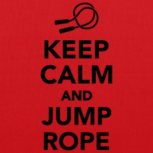 Keep calm and jump rope T-Shirts - Stoffbeutel