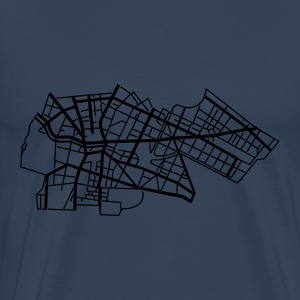 Berlin Kreuzberg Long Sleeve Shirts - Men's Premium T-Shirt