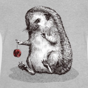 Heather grey hedgehog Shirts - Baby T-Shirt
