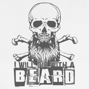 die with a beard T-Shirts - Baseballkappe