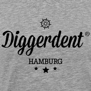 Diggerdent(c) Hamburg Long sleeve shirts - Men's Premium T-Shirt