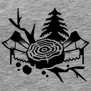 Tools for lumberjacks Other - Men's Premium T-Shirt