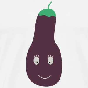 Aubergine Tops - Men's Premium T-Shirt