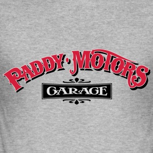 Paddy Motors Vintage Hoodie - Men's Slim Fit T-Shirt