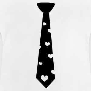 Black tie with heart Shirts - Baby T-Shirt