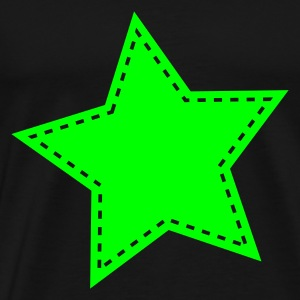 Green star Hoodies & Sweatshirts - Men's Premium T-Shirt