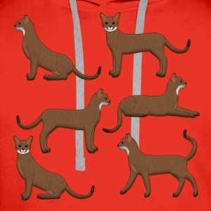 Abyssinian selection T-shirts - Premiumluvtröja herr