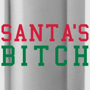 Santa's Bitch Petten & Mutsen - Drinkfles