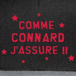 Connard / Connasse / Insulte / Con / Vulgaire Tee shirts - Casquette snapback