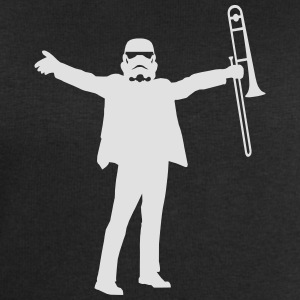 trombone trooper  T-Shirts - Men's Sweatshirt by Stanley & Stella