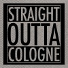 Snapback Straight Outta Cologne - Snapback Cap