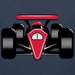 Race car fast race Motorsport T-Shirts - Men's Premium Tank Top